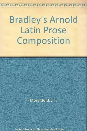 9780892413447: Bradley's Arnold Latin Prose Composition