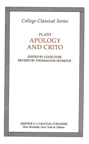 9780892413454: Apology of Socrates and Crito