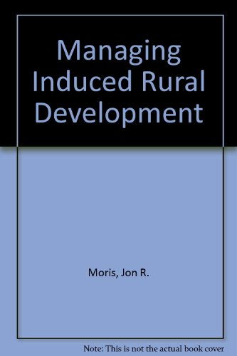 9780892490332: Managing Induced Rural Development
