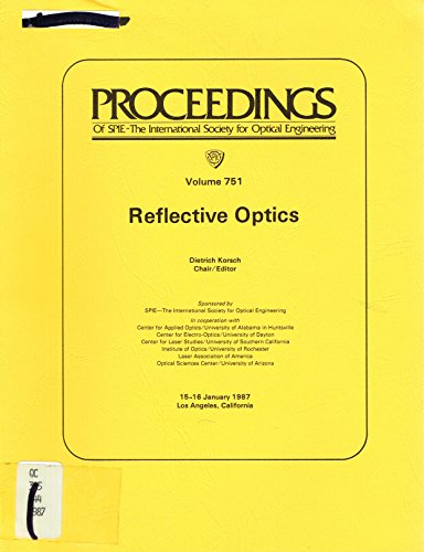 9780892527861: Reflective Optics (Proceedings of Spie)