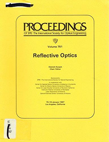 9780892527861: Reflective Optics (Proceedings of Spie)