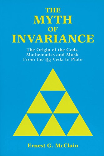 9780892540129: Myth of Invariance: The Origin of the Gods, Mathematics and Music from the RG Veda to Plato