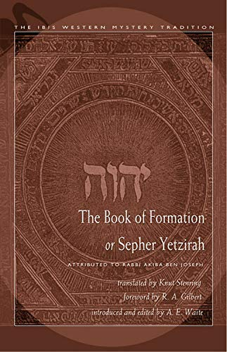 The Book of Formation or Sepher Yetzirah: Stenring, Knut