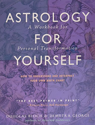 9780892541225: Astrology for Yourself: How to Understand and Interpret Your Own Birth Chart a Workbook for Personal Transformation