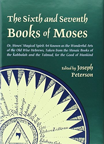9780892541300: The Sixth and Seventh Books of Moses: Or Moses' Magical Spirit-art