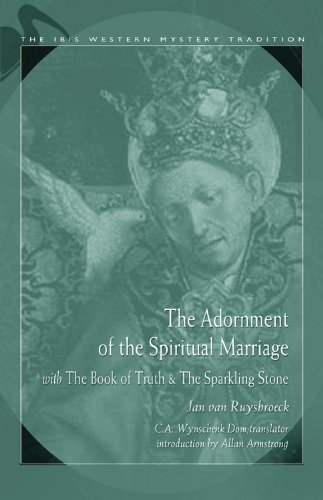 9780892541409: The Adornment Of The Spiritual Marriage: The Sparkling Stone & The Book of Supreme Truth (Ibis Western Mystery Tradition)