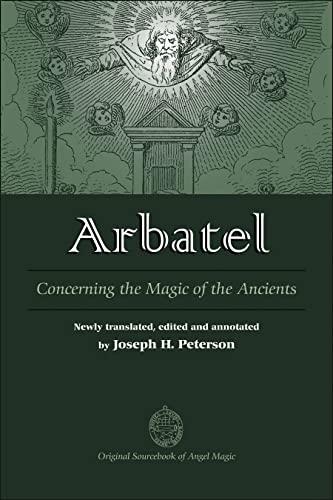 9780892541522: Arbatel: Concerning the Magic of Ancients