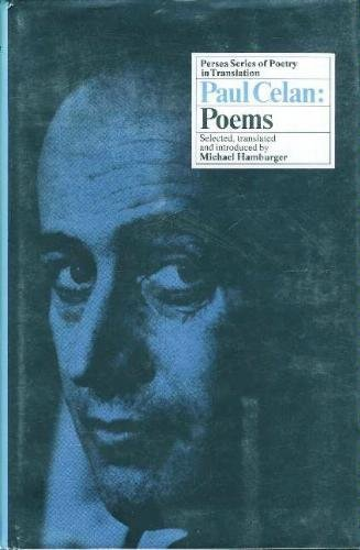 9780892550432: Paul Celan: Poems (English and German Edition)