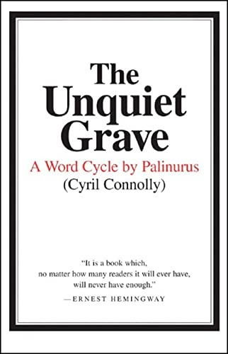 9780892550586: The Unquiet Grave: A Word Cycle by Palinurus