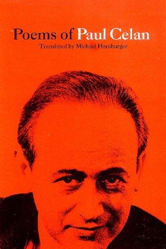 9780892551347: Poems of Paul Celan: A Bilingual German/English Edition