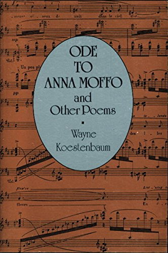 9780892551552: Ode to Anna Moffo and Other Poems