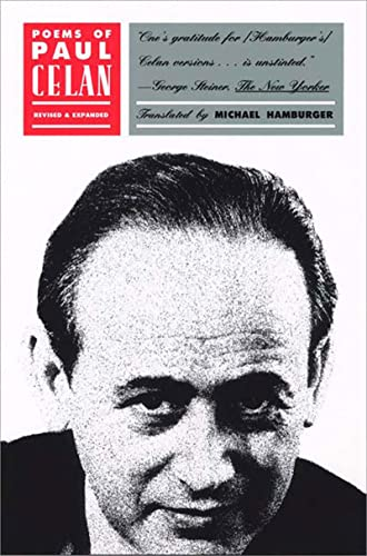 9780892552764: Poems of Paul Celan: A Bilingual German/English Edition, Revised Edition