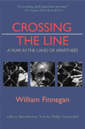 9780892553259: Crossing the Line: A Year in the Land of Apartheid