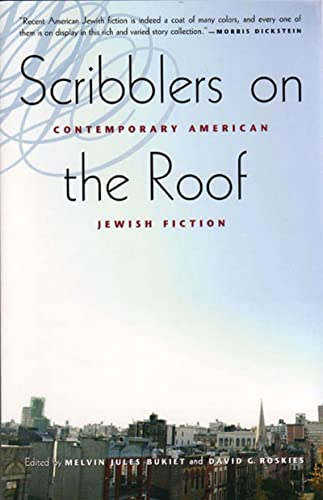 9780892553266: Scribblers on the Roof: Contemporary Jewish Fiction