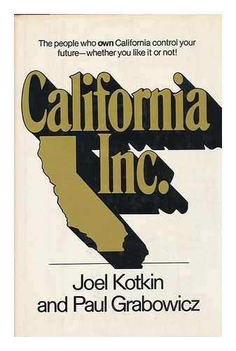 9780892561797: California, Inc