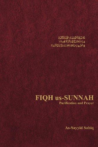 9780892590605: Fiqh Us-Sunnah Purification and Prayer