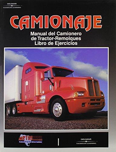 9780892624874: Camionaje: Manual Del Camionero De Tractor-Remolques/Libro De Ejercicios