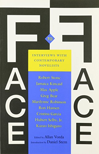 Face to Face: Interviews with Contemporary Novelists: Allan Vorda