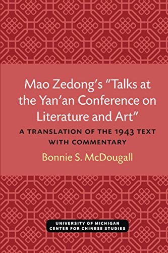 9780892640393: Mao Zendongs Talks at the Yanan Conference on Literature&Art