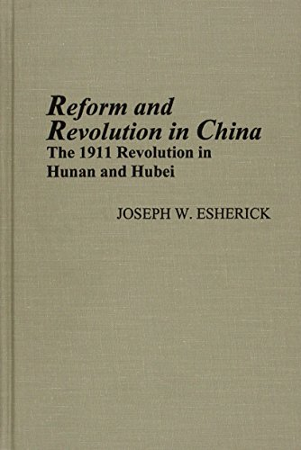 9780892641307: Reform and Revolution in China: The 1911 Revolution in Hunan and Hubei, Revised Edition (Michigan Monographs in Chinese Studies)
