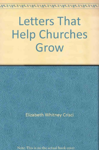 9780892651139: Letters That Help Churches Grow