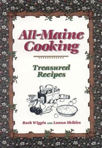 9780892720958: All-Maine Cooking