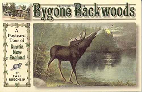 9780892726363: Bygone Backwoods: A Postcard Tour Of Rustic New England