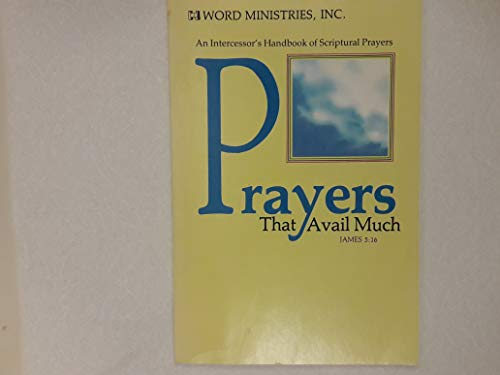 9780892741168: Prayers that Avail Much: James 5:16