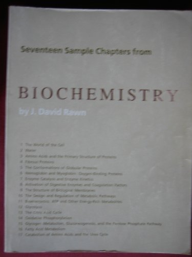 9780892784066: Biochemistry