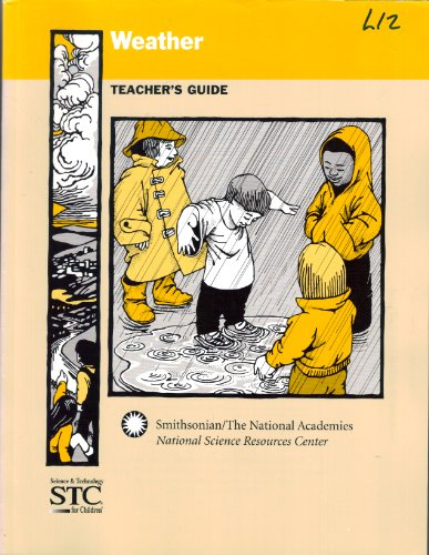 9780892789948: Weather Science and Technology for Children (Teacher's Guide) (National Science Resources Center (NSRC))