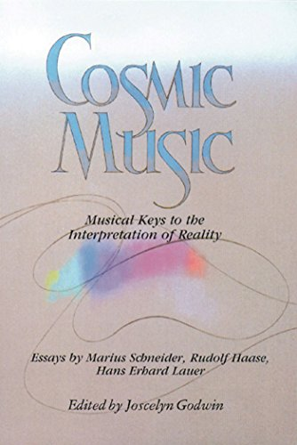 9780892810703: Cosmic Music: Musical Keys to the Interpretation of Reality