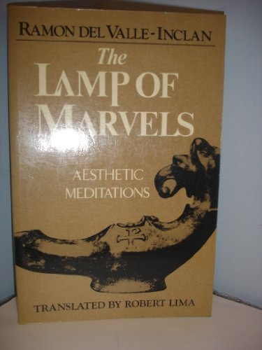 9780892810758: LAMP OF MARVELS