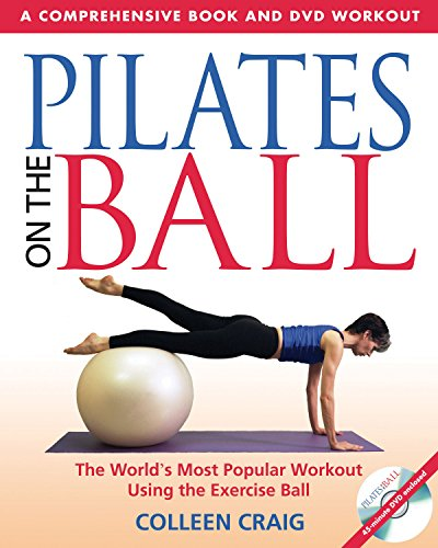 9780892810956: Pilates on the Ball: A Comprehensive Book and DVD Workout: A Comprehensive Book & DVD Workout