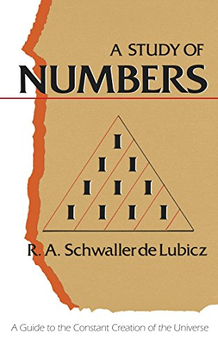 9780892811120: A Study of Numbers: A Guide to the Constant Creation of the Universe