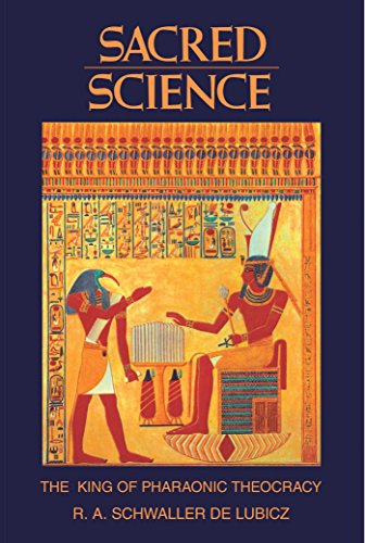 9780892812226: Sacred Science: The King of Pharaonic Theocracy
