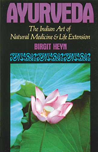 9780892813339: Ayurveda: The Indian Art of Natural Medicine and Life Extension