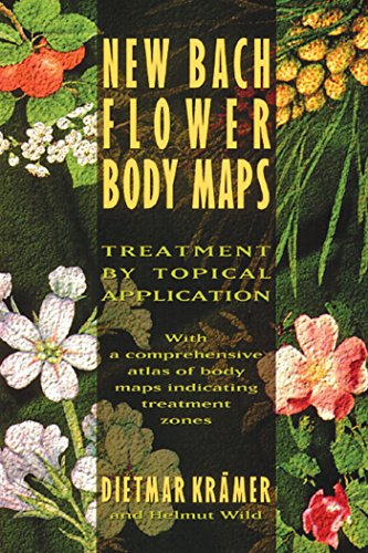 9780892815319: New Bach Flower Body Maps: Treatment by Topical Application