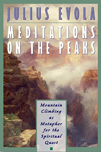 9780892816576: Meditations on the Peaks: Mountain Climbing as Metaphor for the Spiritual Quest
