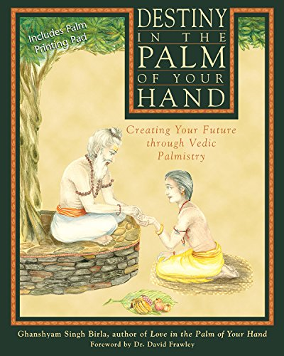 9780892817702: Destiny in the Palm of Your Hand: Creating Your Future through Vedic Palmistry