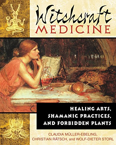 9780892819713: The Witchcraft Medicine: How to Be Healthy and Productive Using Music and Sound: Healing Arts, Shamanic Practices and Forbidden Plants