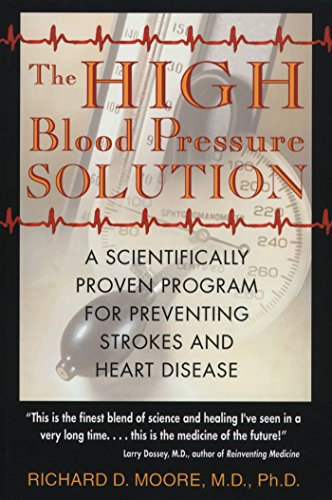 9780892819751: The High Blood Pressure Solution: A Scientifically Proven Program for Preventing Strokes and Heart Disease