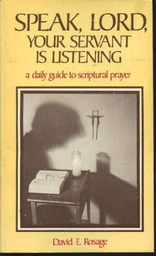 9780892830466: Speak Lord, Your Servant Is Listening