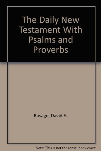 9780892833764: The Daily New Testament With Psalms and Proverbs