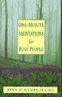 9780892839575: One-Minute Meditations for Busy People