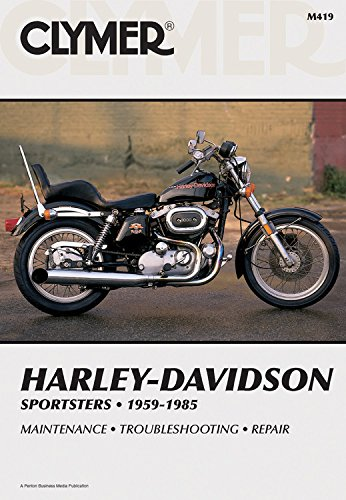 9780892871261: Clymer Harley-Davidson Sportsters 59-85: Service, Repair, Maintenance