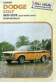 Dodge Colt, 1971-1979, shop manual: Ray Hoy