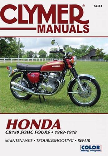 9780892871674: Clymer Honda CB750 SOHC Fours, 1969-1978: Maintenance, Troubleshooting, Repair (Clymer Motorcycle)