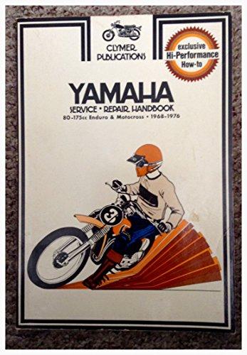 9780892871681: Yamaha service-repair handbook, 80-175cc Enduro & Motocross, 1968-1976