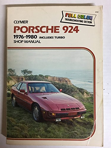 9780892872046: Porsche 924, 1976-1982, Includes Turbo: Shop Manual