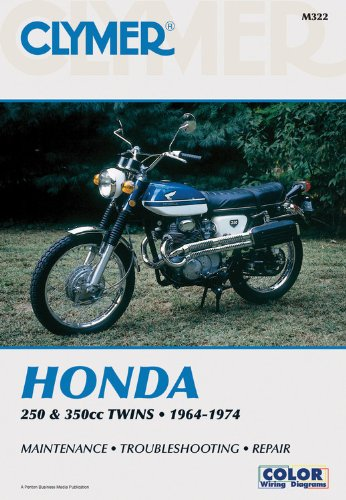 9780892872091: Clymer: Honda 250-350cc Twins, 1964-1974: Service, Repair, Performance